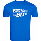 Back To The 80s - Retro Movie Style - Mens T Tee Shirt - Free P+P - Gift Idea