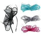 Sinamay Headband AND Clip Fascinator in a choice of colours (AB)
