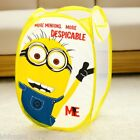 Despicable Me Minions, Hello Kitty Foldable Laundry Basket Tidy Clothes Storage