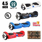 """UL2272 Listed Hover 4.5"""" Kids Mini Two Wheel Smart Self Balancing Scooter Board"""