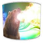 Grizzly Bear Lampshades Ideal To Match Grizzly Bear Cushions, Bear Duvet Covers