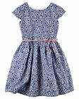 Carter's    Girls' Sateen Paisley Dress   MSRP$44.00  Size 5, 6, 7, 8