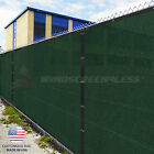 Customize 6' FT Privacy Fence Screen Green Commercial Windscreen Shade 161-320