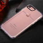 Soft Anti-knock Silicone TPU Back Case Cover for iPhone 6 6S Plus with Card Slot