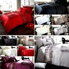Luxury Duvet Cover Sets With Pillow Cases - Single,Double,King,Super King Sizes