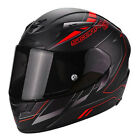 Casco de moto Scorpion Exo-2000 Evo Air Cup Black Red Nuevo con etiquetas