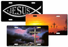 CUSTOM PERSONALIZED METAL LICENSE PLATE - RELIGIOUS - ADD ANY TEXT FREE