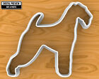 Airedale Terrier Dog Cookie Cutter, Selectable sizes