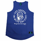 No Muff Too Tuff Open Water MENS DRY FIT VEST birthday gift funny scuba dive