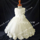 MFI6 Baby Infants Christening Baptism Holy Communion Formal Pageant Gowns Dress