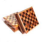 Handmade Thuya Burl Wooden Chess Box Set From Morocco/Thuja Wood Secret Box Ches