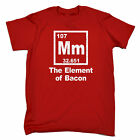 Mm The Element Of Bacon MENS T-SHIRT tee birthday geek nerd chemistry funny gift