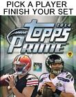 2014 Topps Prime Football Singles - Complete Your Set - We combine shi ID:156084