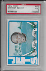1972 Topps Emerson Boozer #322 Football Card MINT PSA 9 For Sale