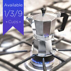 Strove Pot Espresso Cuban Moka Coffee Maker Cafetera Cubana Italiana. 1 or 3 cup