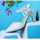 Quality Fashion Women's PU Ankle Strap Pumps Heel Party Casual Shoes Sandals