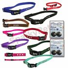Dog Fence 3 hole Replacement Straps with 4 High Tech  RFA 67D Batteries