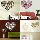 Love Heart Wall Stickers! Girls Home Transfer Graphic / Decal Decor Stencils Art