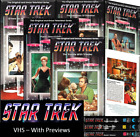 Star Trek Classic VHS with Preview (Black Case) - Sealed New on eBay