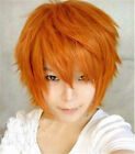 Sexy Short Hair Full Wigs Multi-color Cosplay Costume Fashion Anime Party Hair