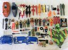 GI JOE COBRA HUGE LOT FIGURES PARTS ACCESSORIES ZARANA SHIPWRECK OVER 6 POUNDS!!