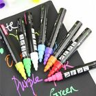 8Colors Highlighter Fluorescent Liquid Chalk Marker Pen for LED Writing Board3mm