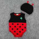 NEW UK Baby Fancy Dress Costume Kids Girl Set Animal Fruit Romper Outfit Summer