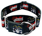 Country Brook Design® 1 1/2 Inch Martingale Dog Collar - Attitude Collection