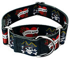 Country Brook Petz® 1 1/2 Inch Martingale Dog Collar - Attitude Collection