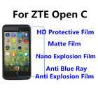 3pcs For ZTE Open C High Clear/Matte/Anti Blue Ray Screen Protector