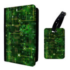 Motherboard Printed Luggage Tag & Passport Holder - T2693