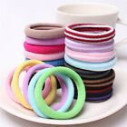 10pcs Women Elastic Hair Ties Band Ropes Ring Ponytail Holder Accessories BDAU