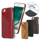 Pierre Cardin Genuine Leather Hard Back Case Cover For Apple iphone 7 phone case