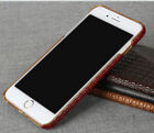 Pierre Cardin Brand New Genuine Leather Cover Hard Back Case For Apple iPhone 7