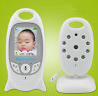 Wireless Video Baby Monitor Color Security Camera NightVision IR LED Temperature