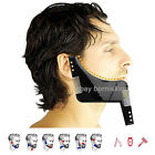 Beard Styling Shaper Shaving Template Tool Stencil Comb for Lines & Symmetry