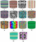 Aztec Lampshades Ideal To Match Aztec Tribal Wall Art, Aztec Tribal Duvet Covers