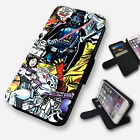 STAR WARS COMIC BOOK FLIP PHONE CASE COVER WALLET FAUX LEATHER