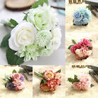 European Style Upscale Home Decorations Fashion Fake Flowers Silk Flower Wedding