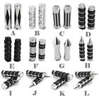 """12 STYLE Motorcycle Hand Grips 1"""" Bar For Harley Dyna Sportster Softail Touring"""
