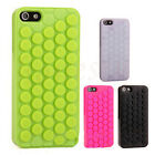 Case Cover Skin for Mobile iPhone 4S/5S 6/6S 3D Puchi Pop Bubble Wrap Creative