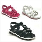New Infant/Toddler Girls Cute Summer Sandal Size  3 - 8