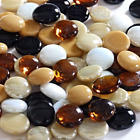 Decorative Round Glass Pebbles / Stones **Choice of Colours &amp; Quantities** <br/> Please visit my shop to view all colours &amp; sizes avail