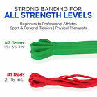 Great For Pilates Physical Therapy Yoga & Crossfit Resistance Long Band Trainers image