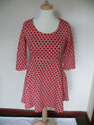 Boden Jersey Jacquard Red Spot A Line Dress RRP £99! *LAST ONE*, Size 12P