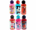 ★ Disney Kinder Trinkflasche Sportflasche 500 ml Hello Kitty Cars Mickey Mouse ★