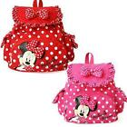 Fashion Minnie Mouse Little Baby Girls Backpacks Kids Cartoon School Bag gift.