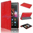 For Amazon Kindle Fire HD 6 2014 Ultra Slim Tri-fold Smart PU Leather Case Cover