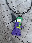 Lego Heroes & Villains Figures Necklace Charm PVC Fashion Jewelry Kids Accessory