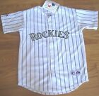 NEW AUTHENTIC COLORADO ROCKIES JERSEY MAJESTIC SIZE YOUTH WHITE MAJESTIC on Ebay